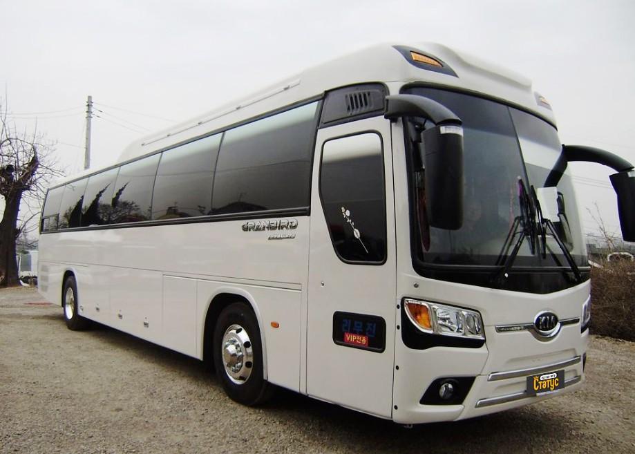 Автобус киа грандберд фото