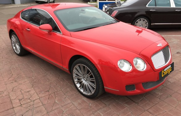 Спорткар Bentley Continental GT Speed