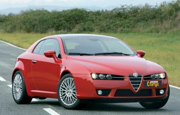 Автомобили с водителем Alfa Romeo Brera