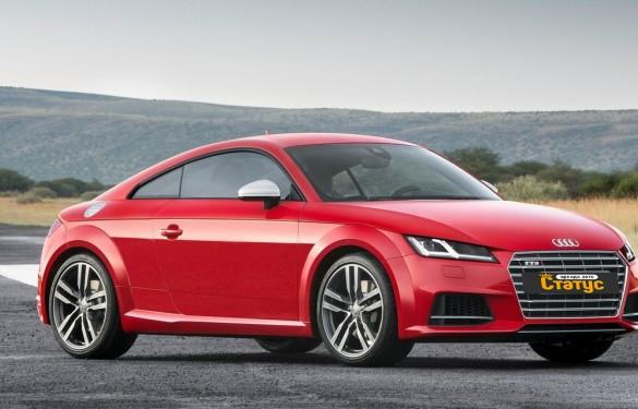 Автомобили с водителем Audi TT-S Coupe