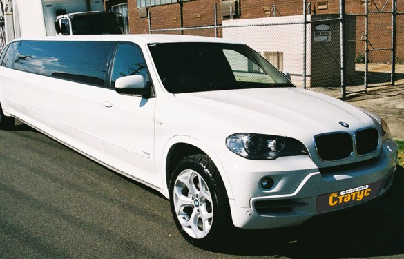 Автомобили с водителем BMW X5-limo