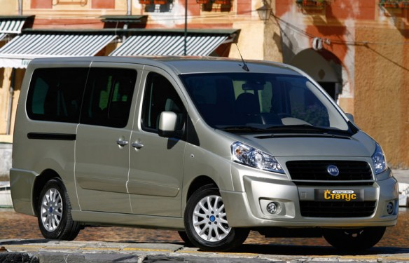 Автомобили с водителем Fiat Scudo
