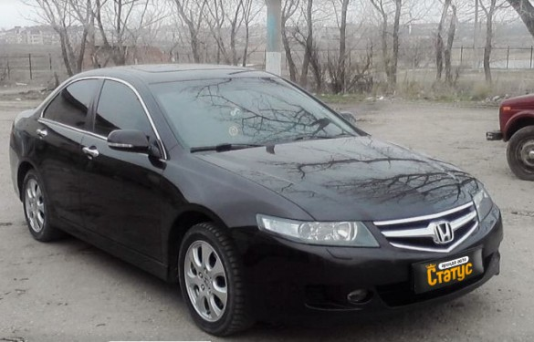 Авто бизнес класса Honda Accord VIII