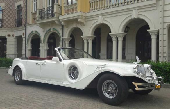 Ретро авто Rolls-Royce Phantom Excalibur