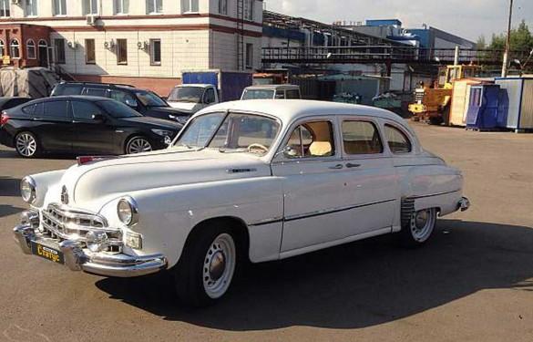 Автомобили с водителем  ГАЗ ЗиМ-12