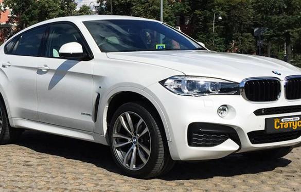 Автомобили с водителем BMW X6 (532)